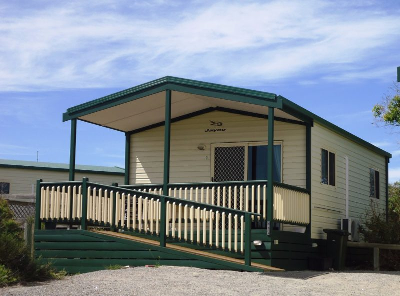 Front 2 Bedroom Seaview Deluxe Cabin