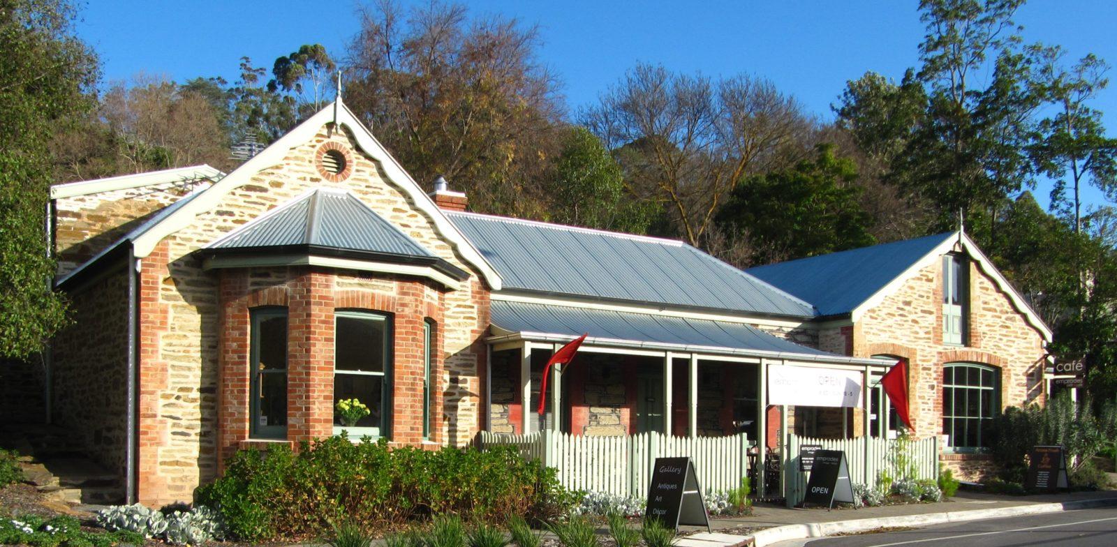 Clarendon South Australia Historic Building Shop Front Emprades vintage + design