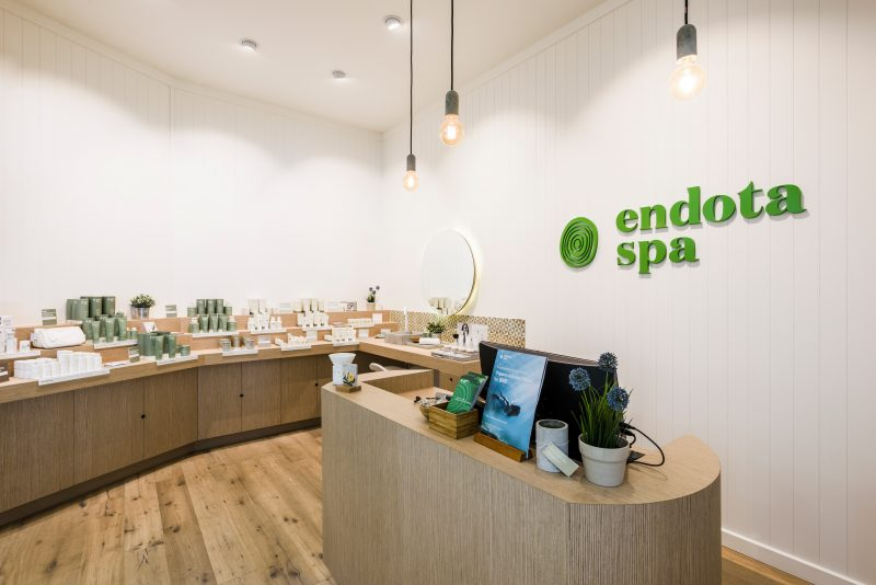Book your facial, massage, or body treatment at endota spa Adelaide Central Plaza