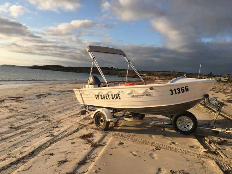 Coffin Bay Eyre Peninsula SA Hire Boat EP Boat Hire Fishing