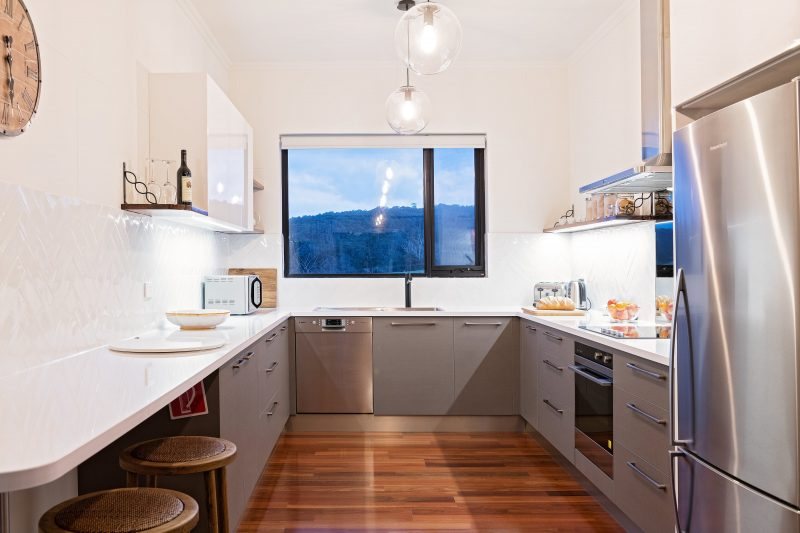 Moden, fully equipped kitchen
