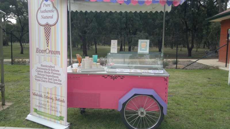 Gelato cart for hire
