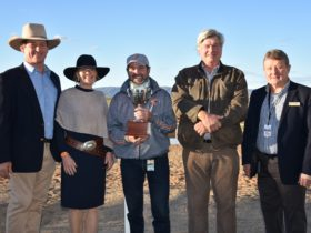 Farmers & Graziers Squatters Cup presentation