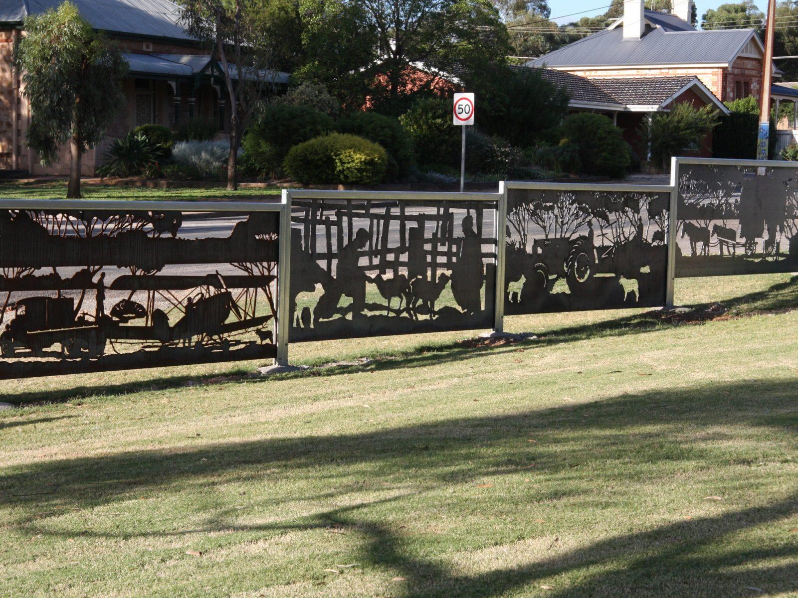 Padnaindi Reserve, Blyth, South Australia. Farming, A Way Of Life - A Common Thread