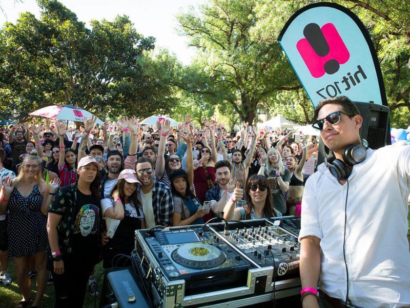 Hit 107 DJs