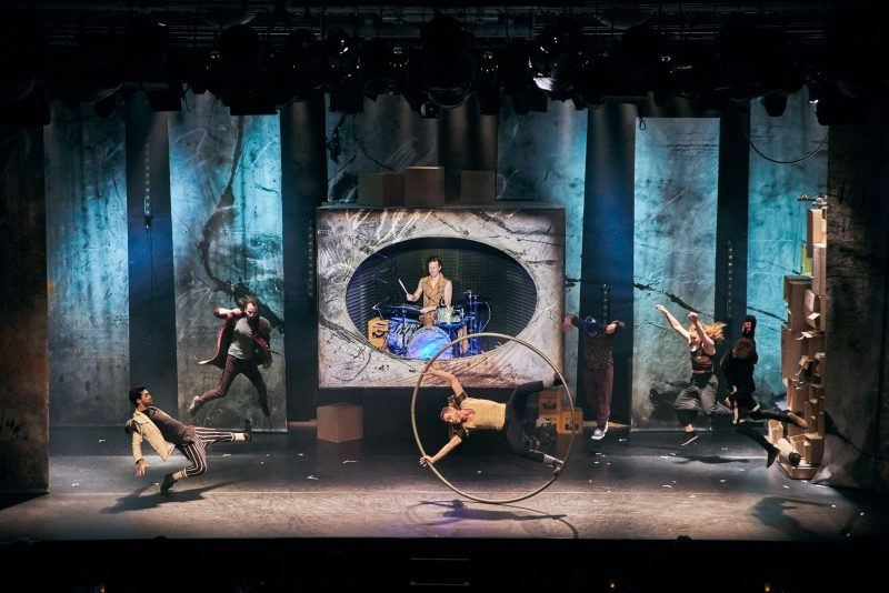 Image showing performers from Finale