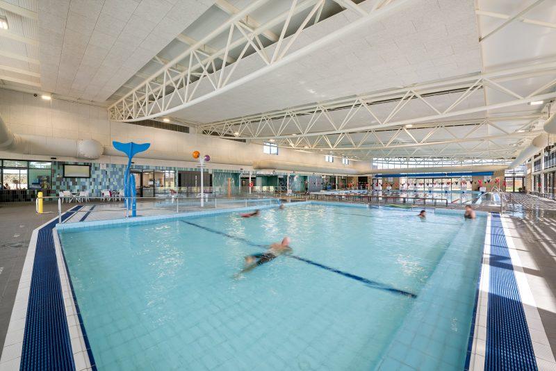 Indoor program pool and splash park