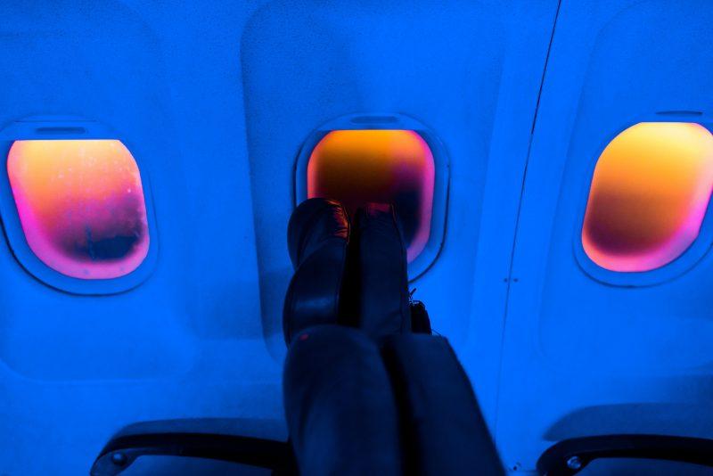 The window seat of FLIGHT