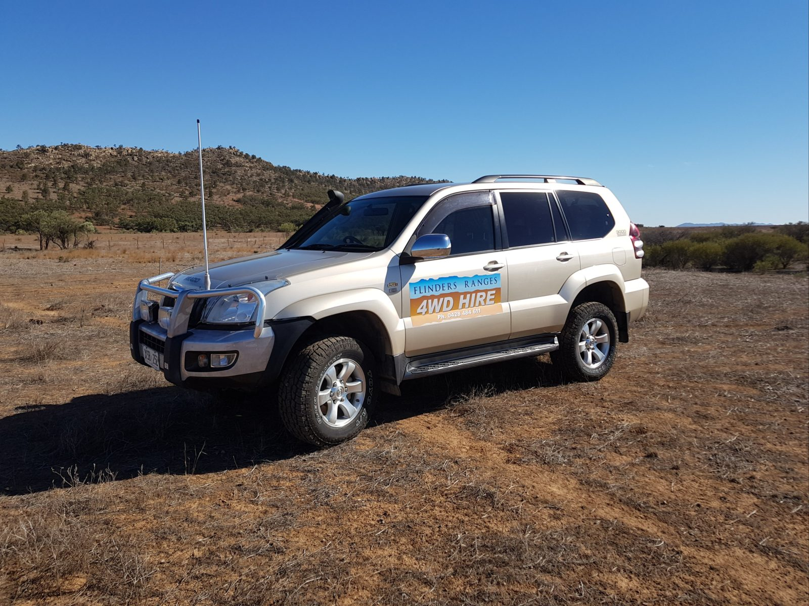 Prado Hire Vehicle