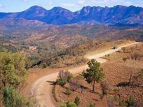 The rugged and ancient Flinders Ranges