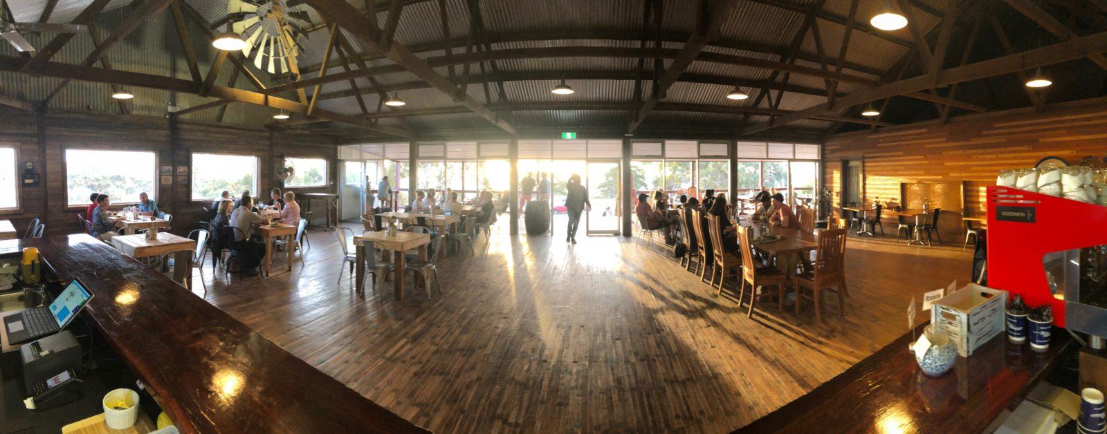 Forktree Brewing indoor dining area