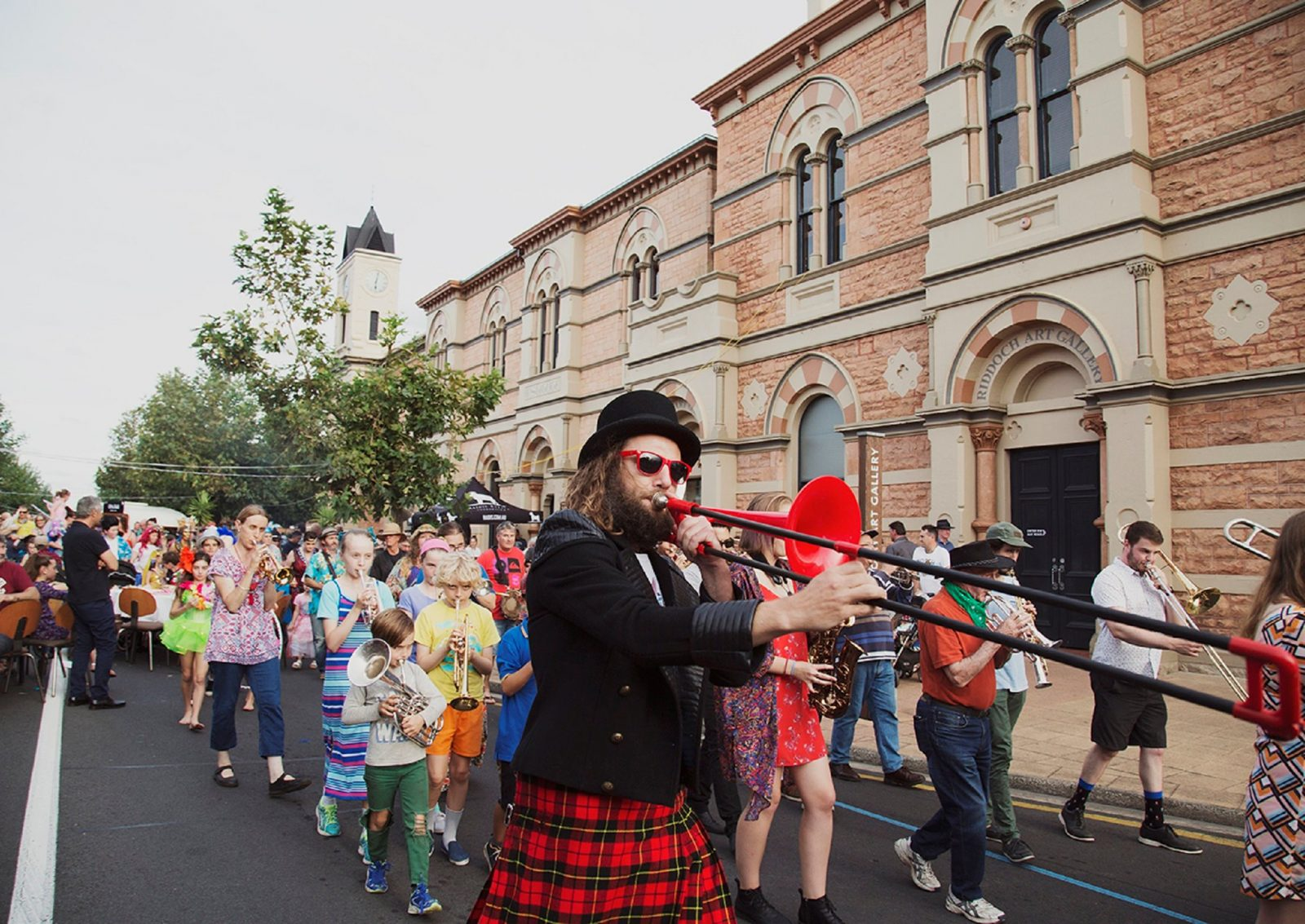 Mount Gambier Fringe Street Party