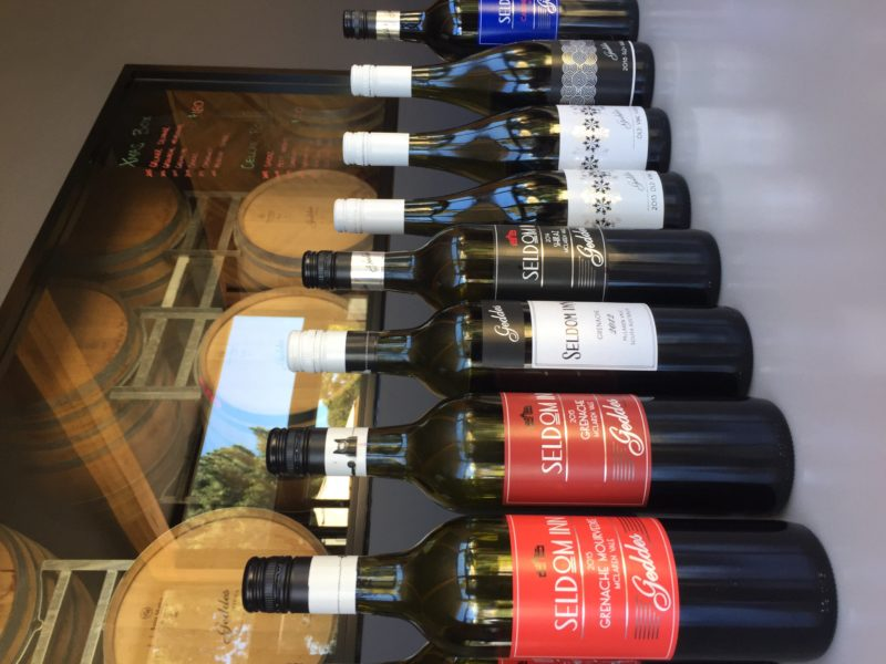 At Geddes we offer a range of back vintages as well as current ones