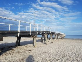 great beaches and Largs jetty just a few minutes away