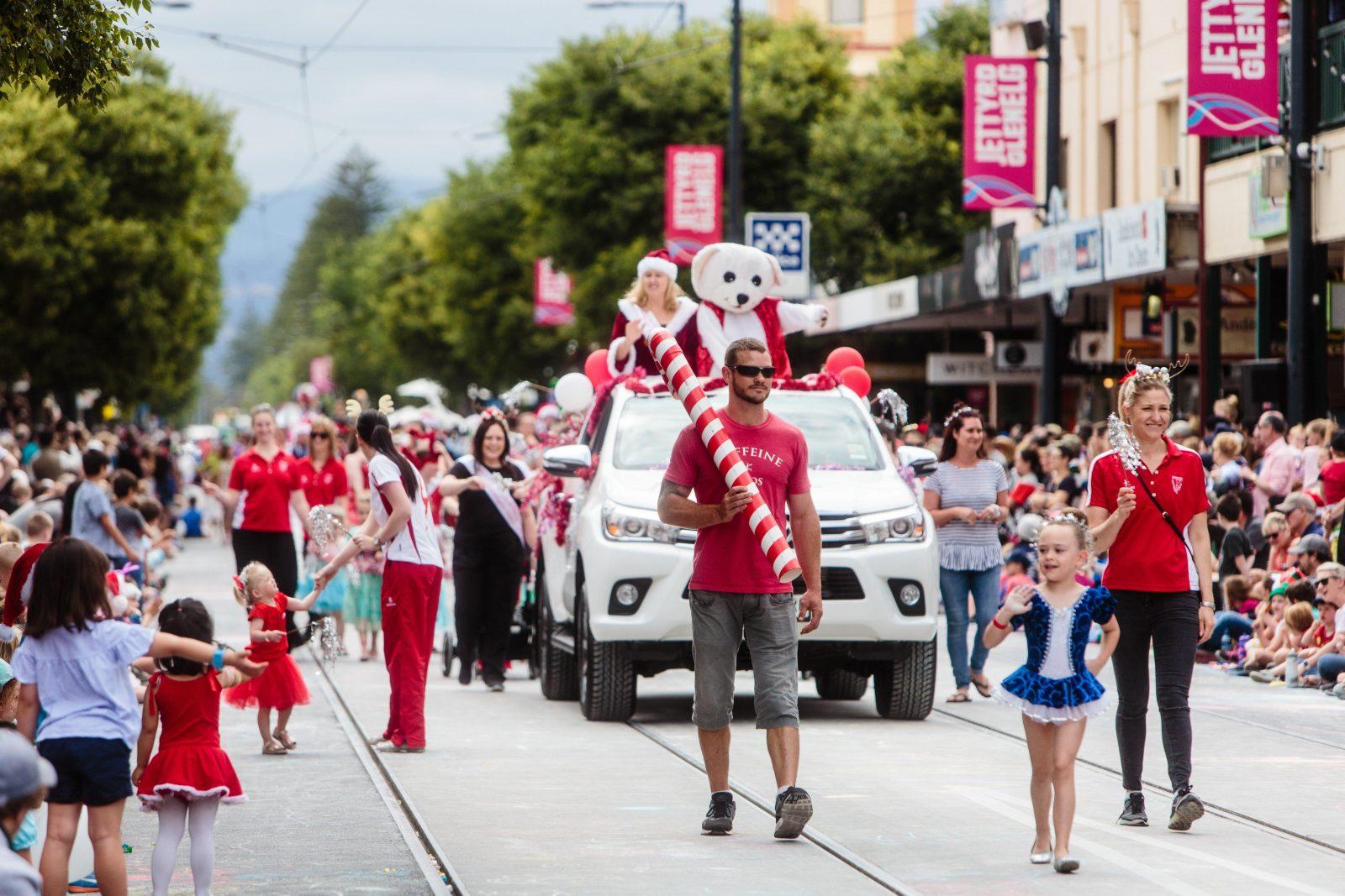 Glenelg Christmas Pageant Float