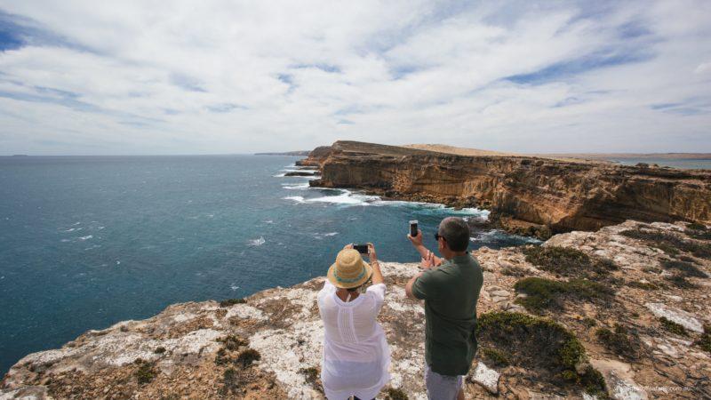Amazing coast cliffs