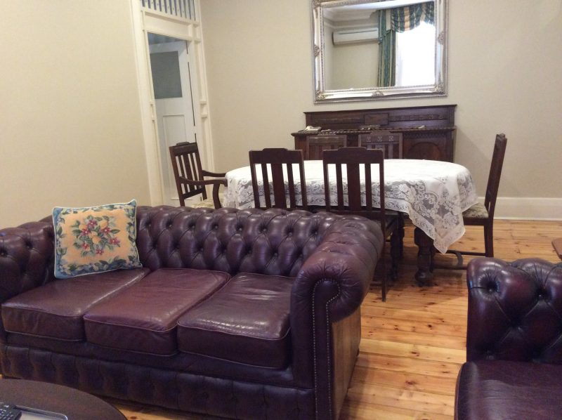 Spacious lounge and dinning room in the Downstairs Grandview Apartment