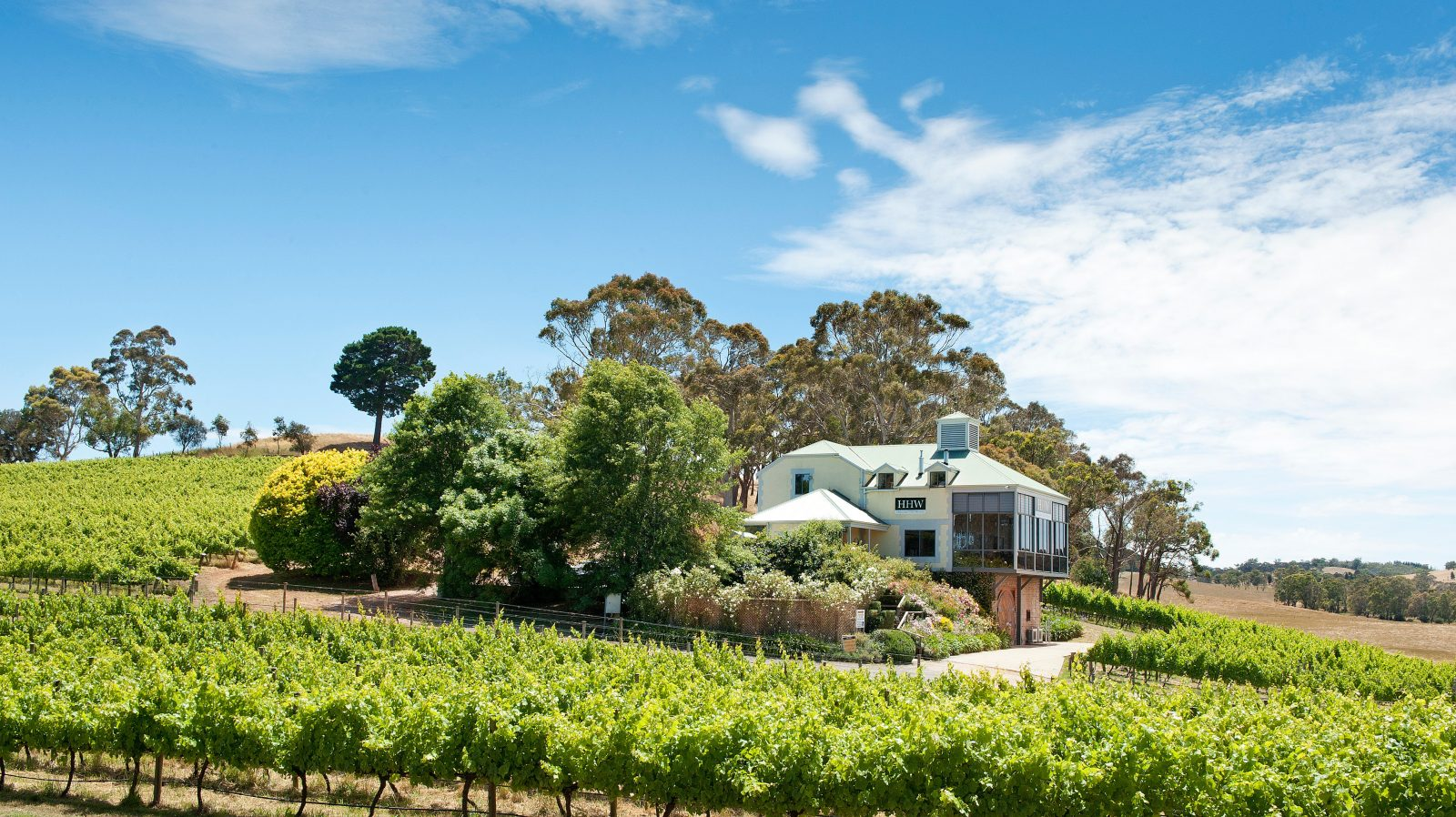 Hahndorf Hill Winery Adelaide Hills Cellar door Springtime