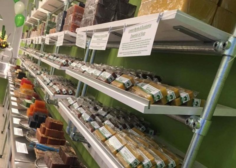 Organic or Natural Soaps all Handmade instore