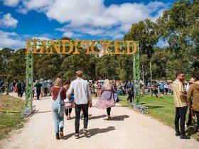 Handpicked Festival - Handmade Entrance Sign