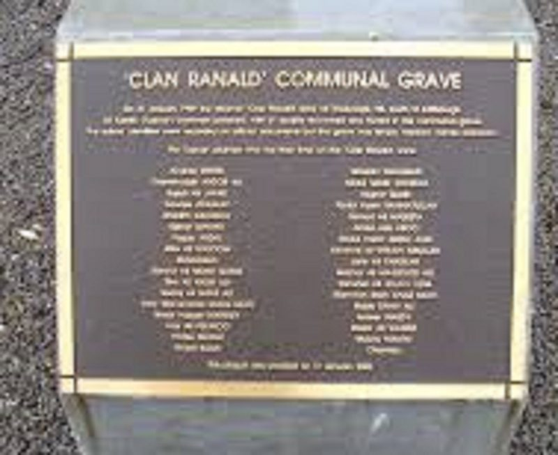 Clan Ranald Graves, Edithburgh