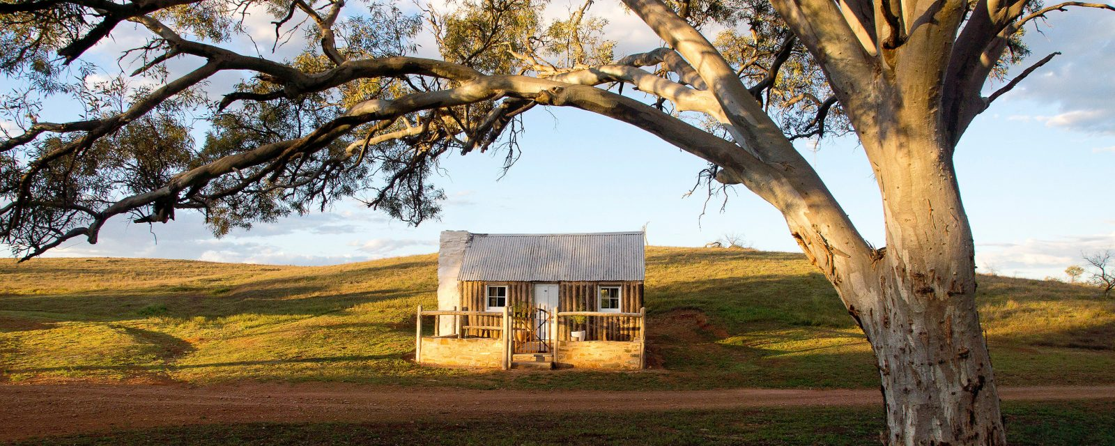 This pine and pug building has been lovingly restored to its former glory.