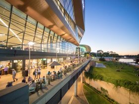 Home Ground dining precinct, Adelaide Riverbank Promenade