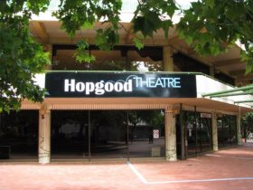 Hopgood Theatre entrance