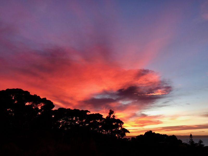 Sunrise on Falie