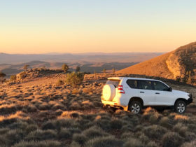 View from Horseshoe Top-End's 4wd tracks