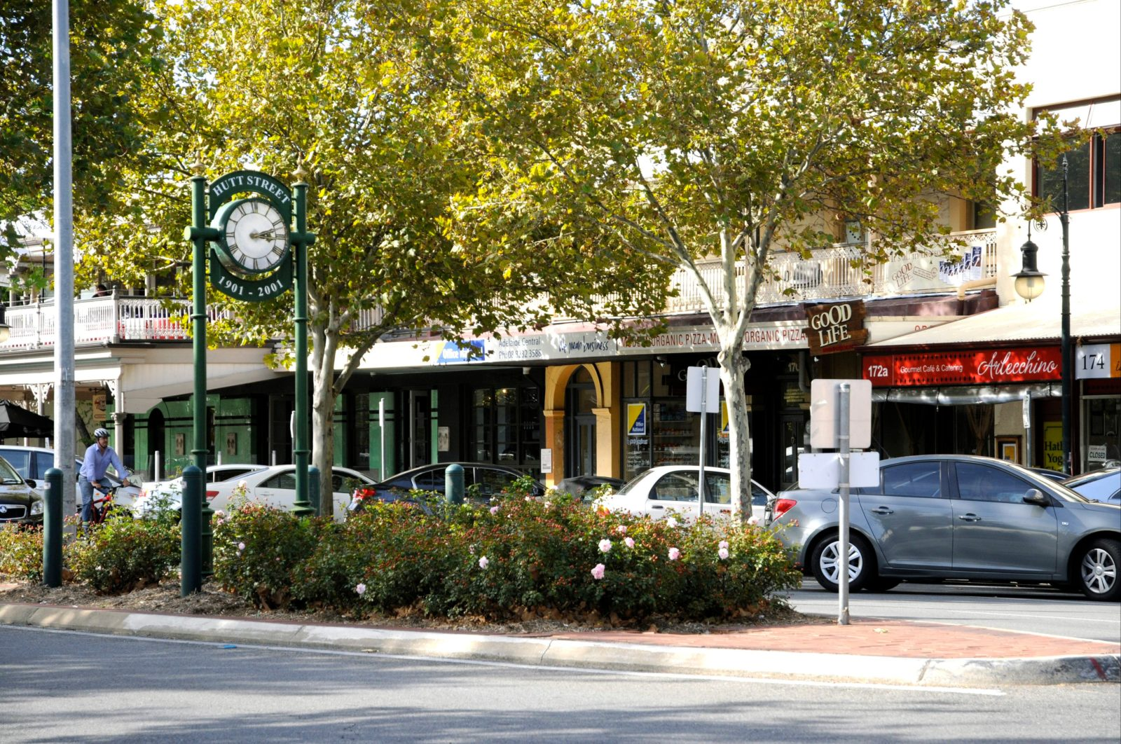 Shopping, dining, food, wine, cafes, retail, business