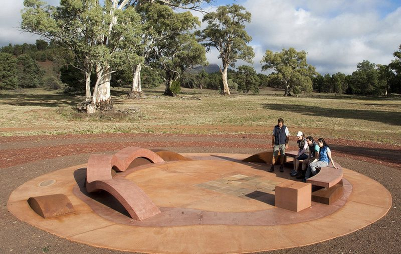 Ikara - The Meeting Place monument