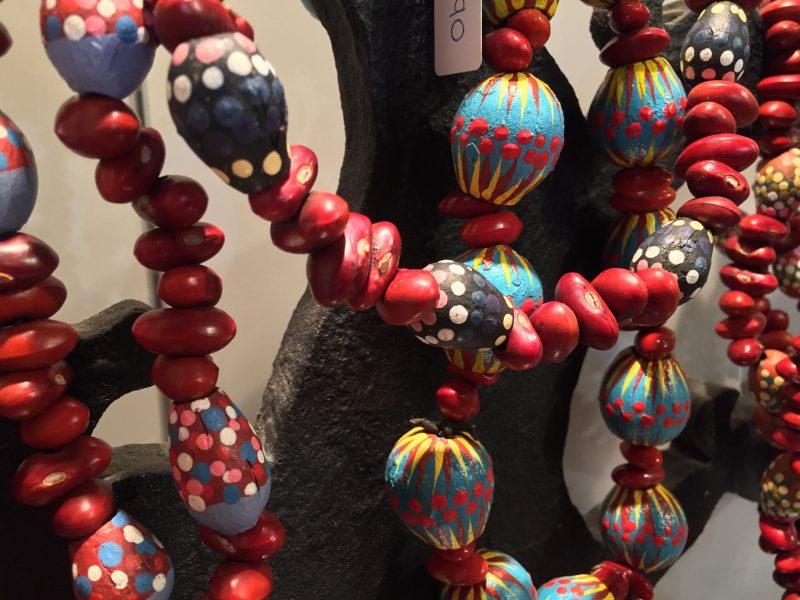 Aboriginal painted jewellery