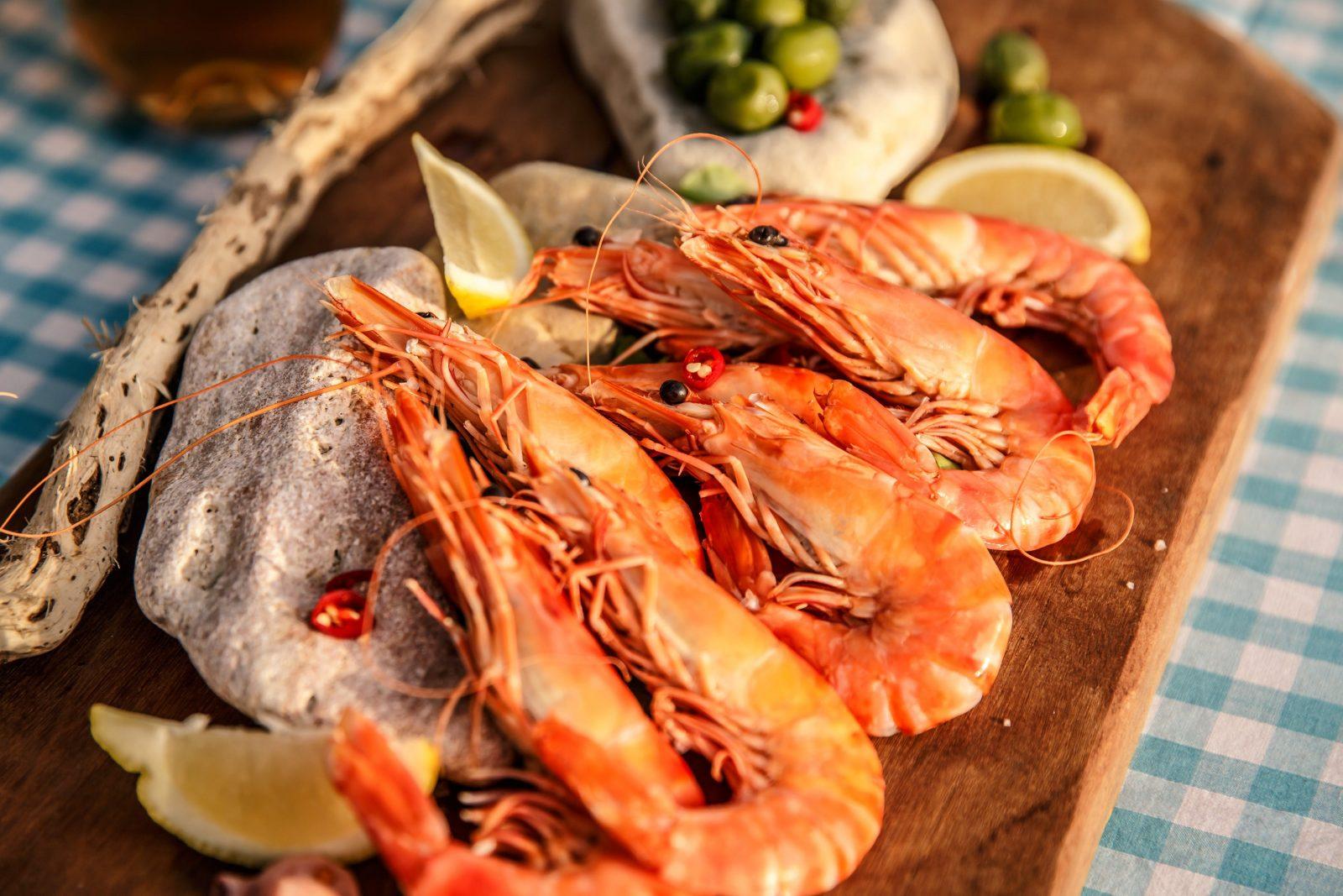 South Australian prawns