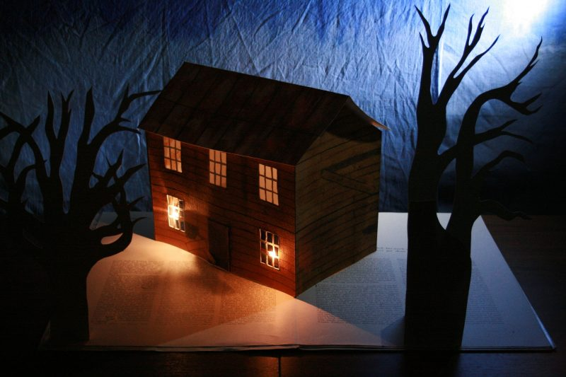A Giant Popup Book Ghost Story