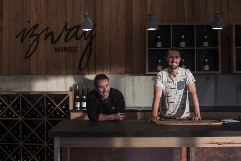 Izway wines cellar door, Barossa Valley with winemakers,