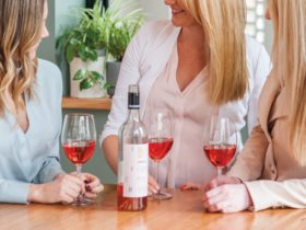 Sharing Jeanneret wines with friends
