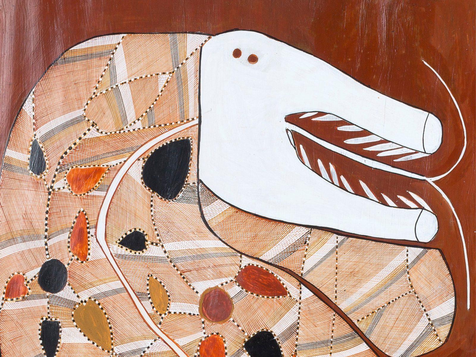 image detail: John Mawurndjul, 'Ngalyod', 2012