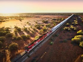 The Ghan hero shot