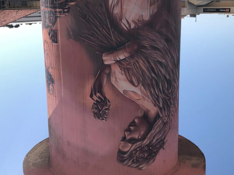 Kadina Water Tower Mural