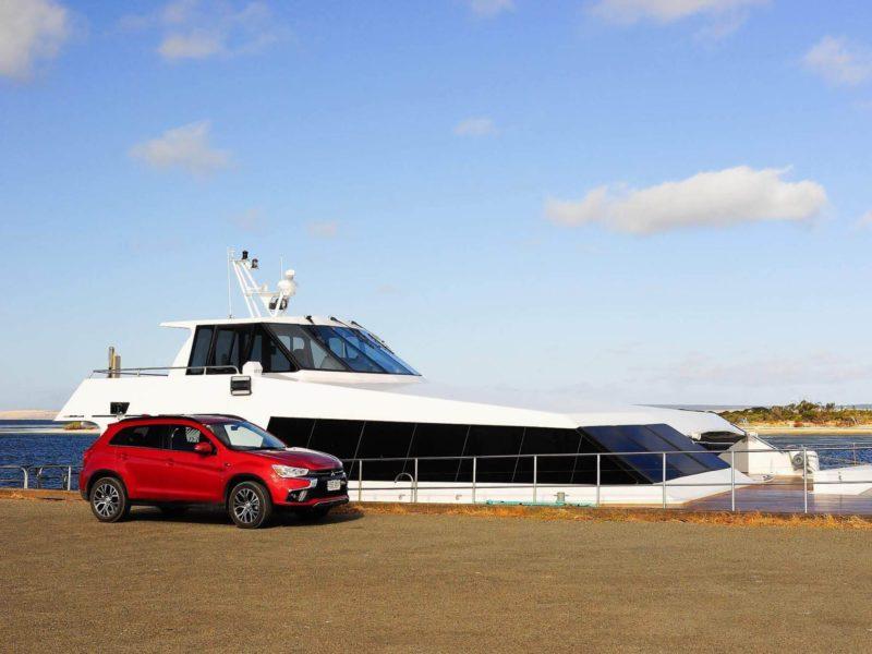 Mitsubish ASX with Ferry