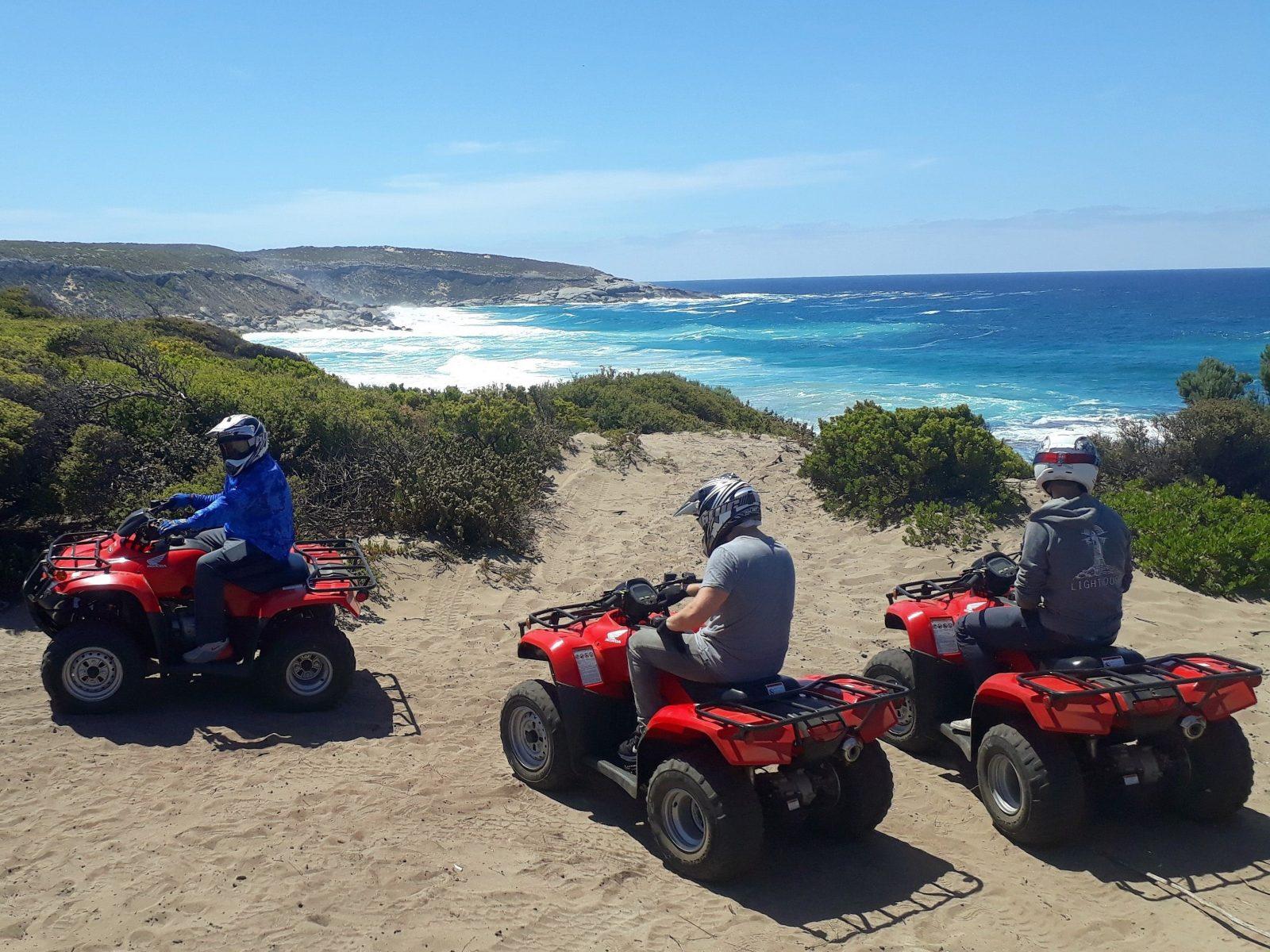 Quads at Cape Kersaint