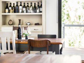 Karawatha Cottages McLaren Vale - detailed view of dining room of Ponder Cottage