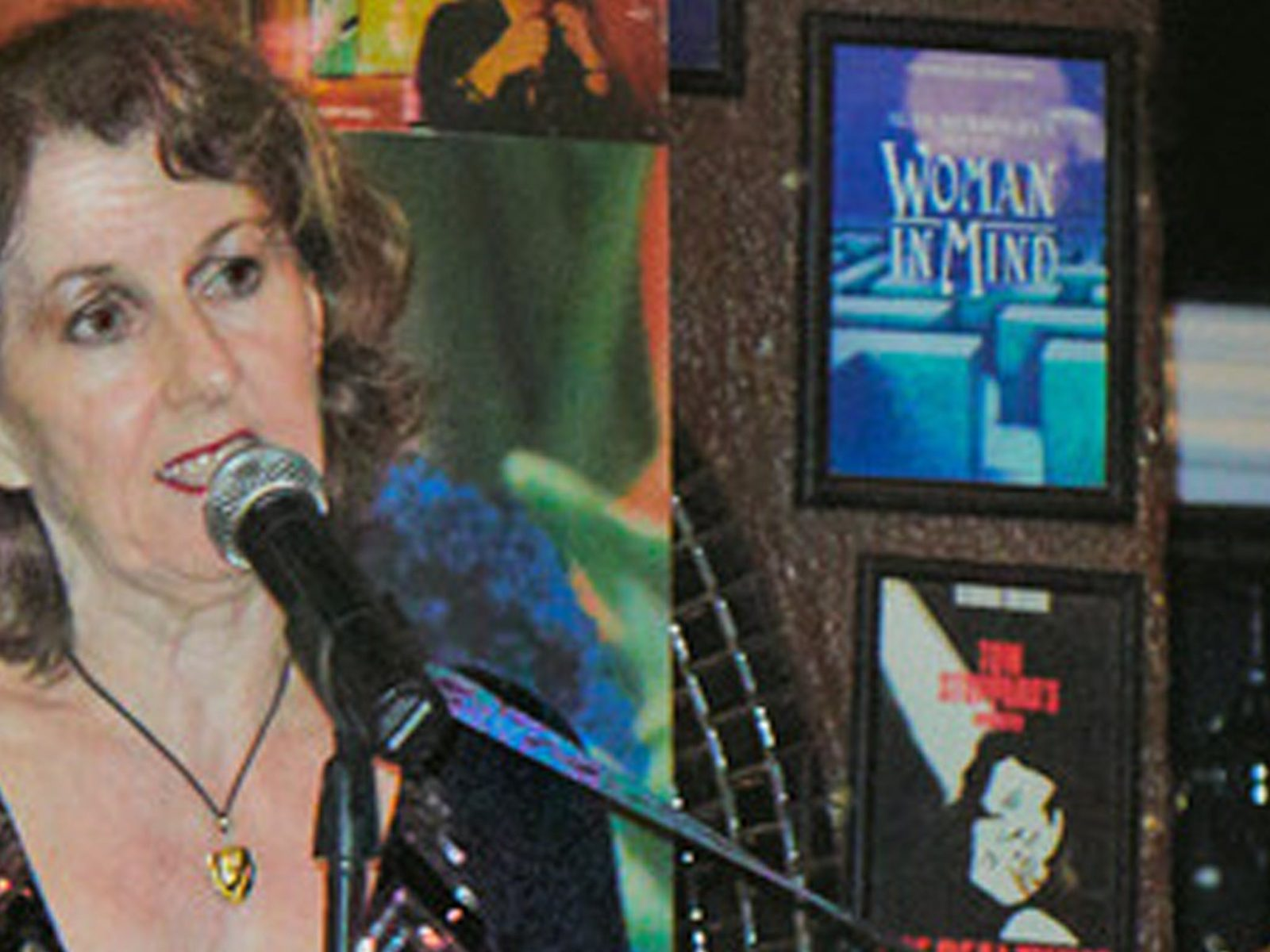 Karen J White sings songs of Kirsty MacColl