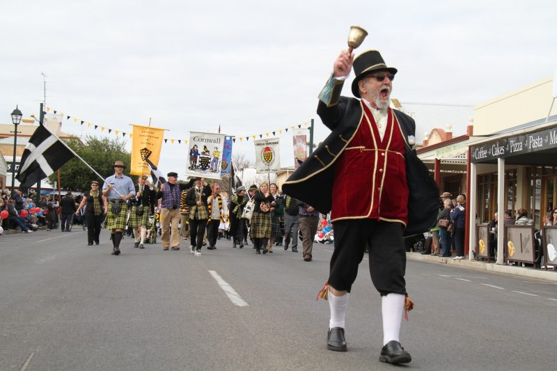 The Drakes Foodland Moonta Street Parade - Kernewek Lowender