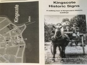 Kingscote Historic Signs Trail