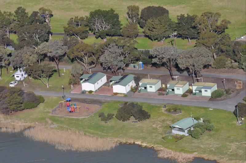 playground; lakeside