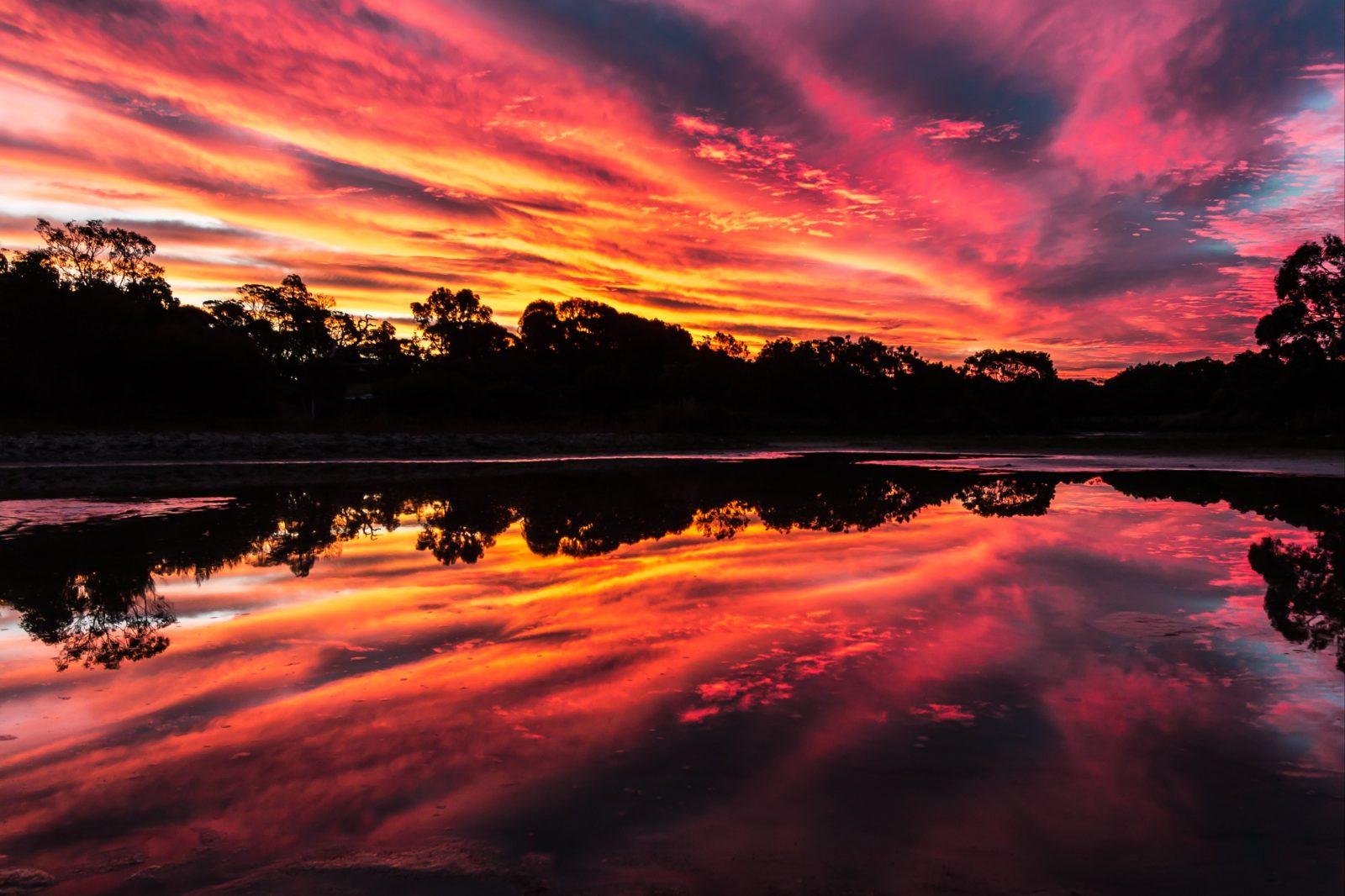 Reflections at Lake McIntyre