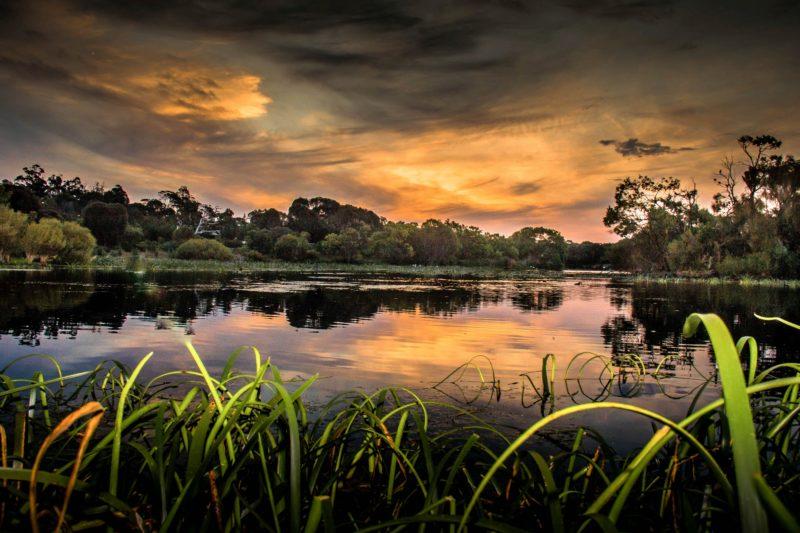 Lake McIntyre Sunset