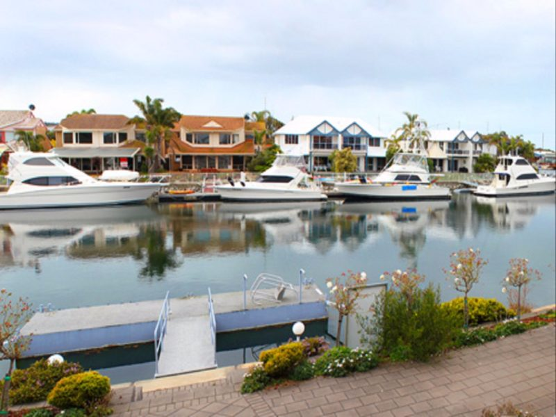 View of Pontoon & Marina